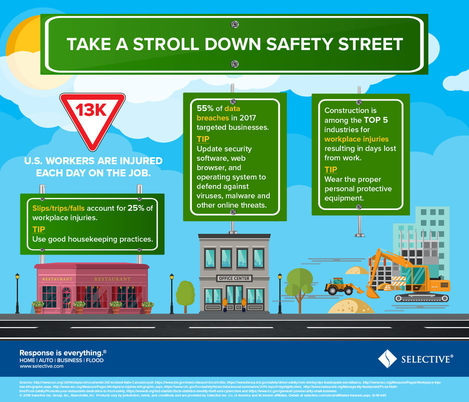 TAKE A STROLL DOWN SAFETY STREET